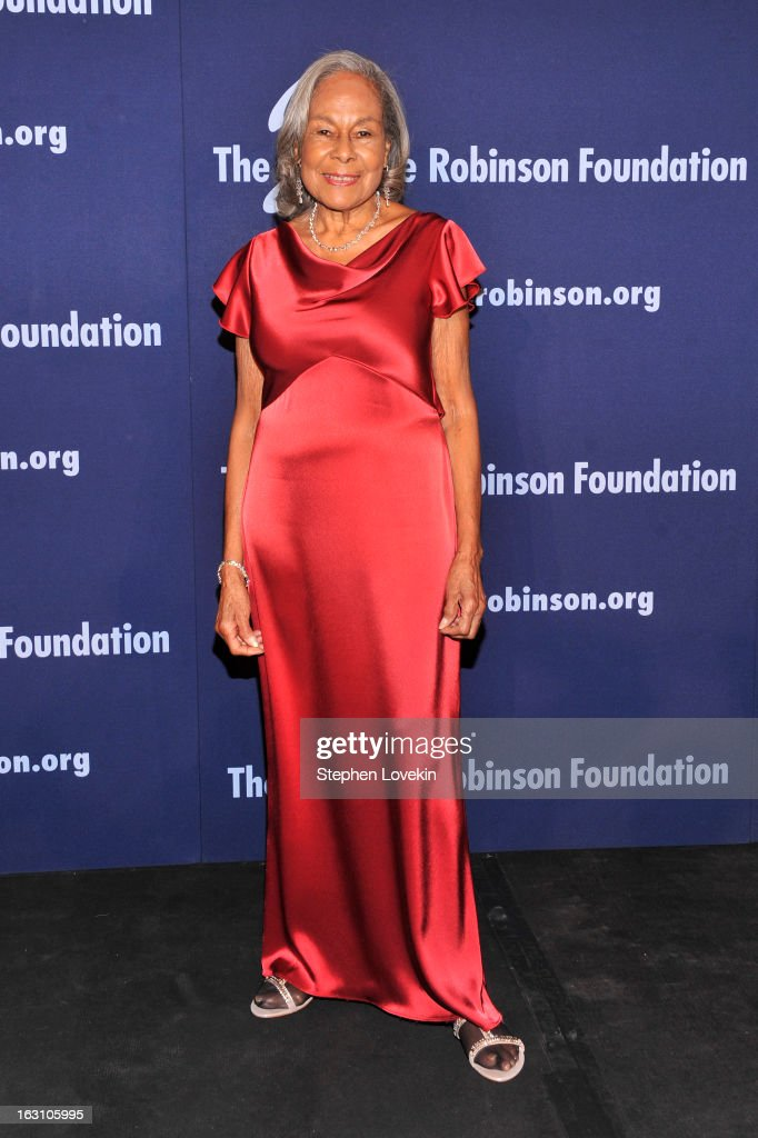 Founder of The Jackie Robinson Foundation Rachel Robinson attends the The Jackie Robinson Foundation Annual Awards' Dinner at the Waldorf Astoria Hotel on March 4, 2013 in New York City.