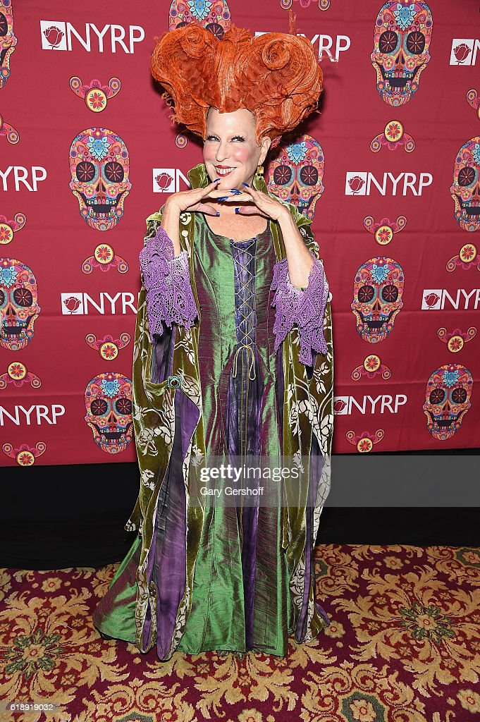 Founder of The New York Restoration Project, Bette Midler attends the 2016 Hulaween Bash at The Waldorf=Astoria on October 28, 2016 in New York City.