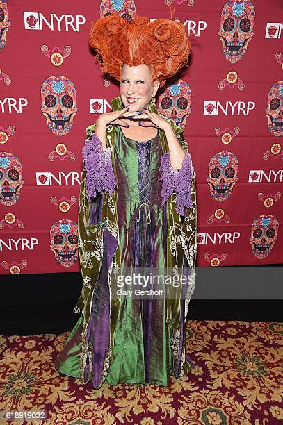 Founder of The New York Restoration Project Bette Midler attends the 2016 Hulaween Bash at The Waldorf=Astoria on October 28 2016 in New York City