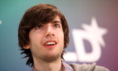Founder of Tumblr David Karp speaks during the Digital Life Design conference at HVB Forum on January 23 2012 in Munich Germany DLD is a global...