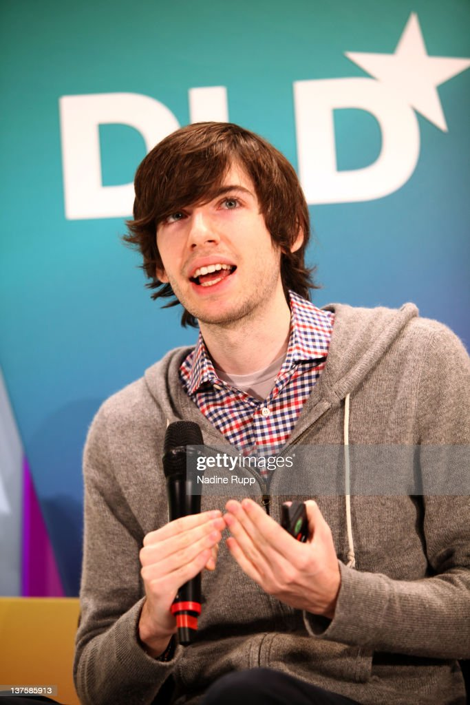 Founder of Tumblr David Karp speaks during the Digital Life Design conference (DLD) at HVB Forum on January 23, 2012 in Munich, Germany. DLD (Digital - Life - Design) is a global conference network on innovation, digital, science and culture which connects business, creative and social leaders, opinion-formers and investors for crossover conversation and inspiration.