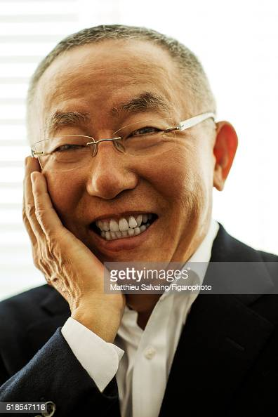 Founder of Uniqlo Tadashi Yanai is photographed for Madame Figaro on January 13 2016 in Tokyo Japan PUBLISHED IMAGE CREDIT MUST READ Matthieu...