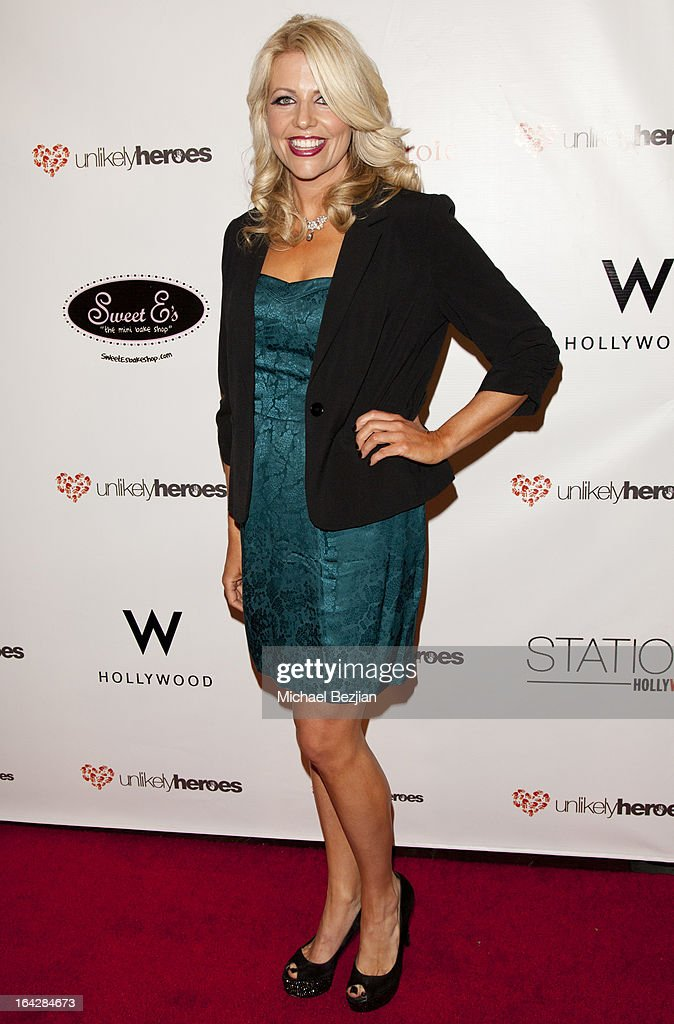 Founder of 'Unlikely Heroes' Erica Greve attends 'Love Is Heroic' - The Unlikely Heroes Annual Spring Benefit at W Hollywood on March 21, 2013 in Hollywood, California.