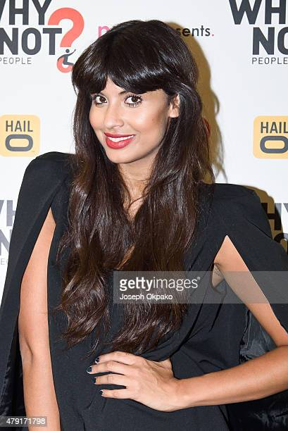 Founder of Why Not People Jameela Jamil attends the Why Not People Launch Event at Troxy on July 1 2015 in London England