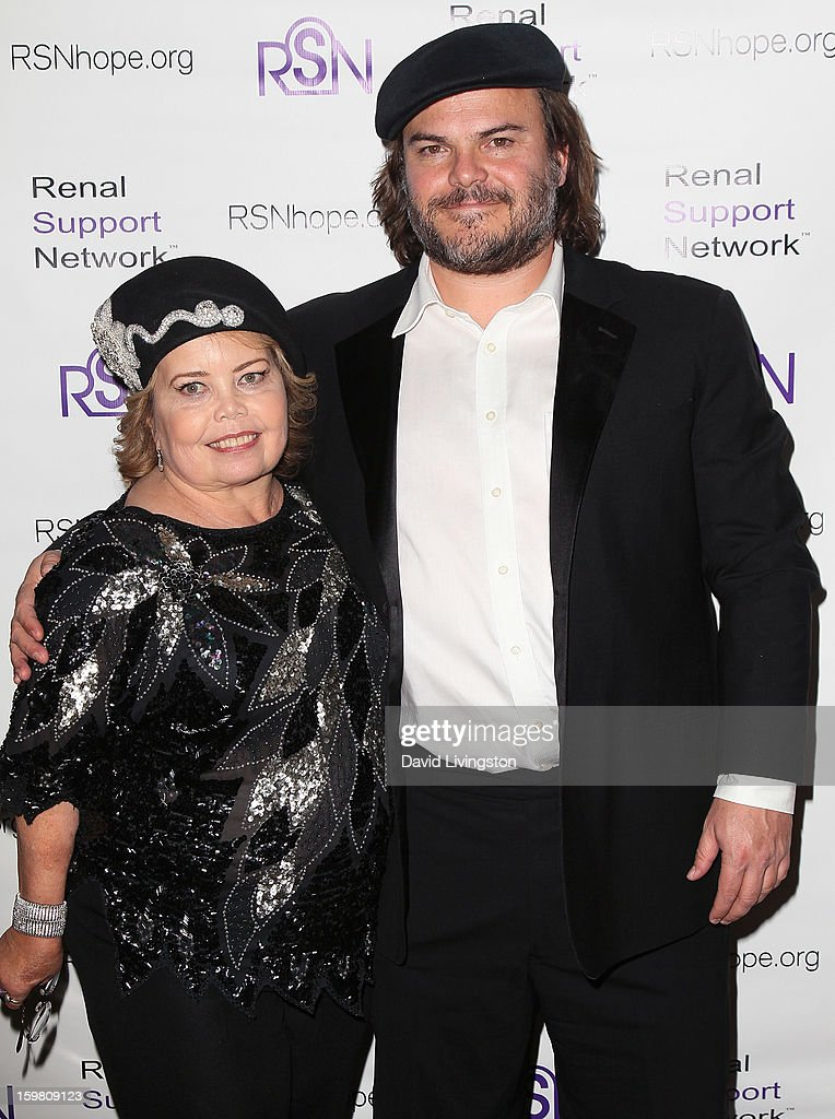 RSN founder & president Lori Hartwell (L) and actor <a gi-track='captionPersonalityLinkClicked' href=/galleries/search?phrase=Jack+Black&family=editorial&specificpeople=171453 ng-click='$event.stopPropagation()'>Jack Black</a> attend the 14th Annual RSN's Renal Teen Prom at Notre Dame High School on January 20, 2013 in Sherman Oaks, California.