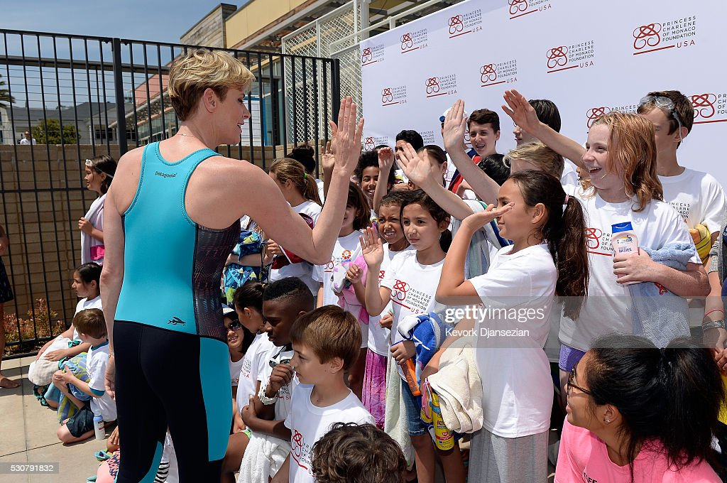 Founder, Princess Charlene of Monaco Foundation, Princess Charlene of Monaco attends The Princess Charlene of Monaco Foundation-USA Official Launch at the Annenberg Community Beach House on May 12, 2016 in Santa Monica, California.