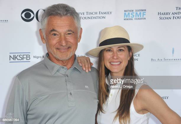 Founder Ron Silverman and CoFounder Mellisa Nielsen at the 5th Annual Matthew Silverman Memorial Golf Classic held at El Caballero Country Club on...