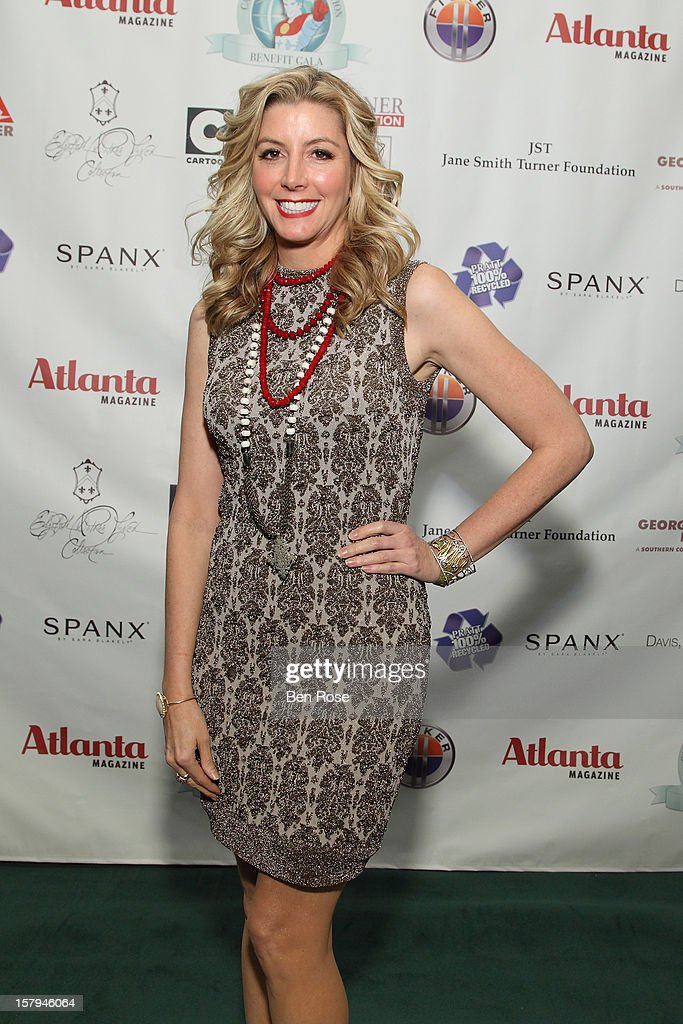 SPANX founder <a gi-track='captionPersonalityLinkClicked' href=/galleries/search?phrase=Sara+Blakely&family=editorial&specificpeople=4439074 ng-click='$event.stopPropagation()'>Sara Blakely</a> attends the Captain Planet Foundation's benefit gala at Georgia Aquarium on December 7, 2012 in Atlanta, Georgia.