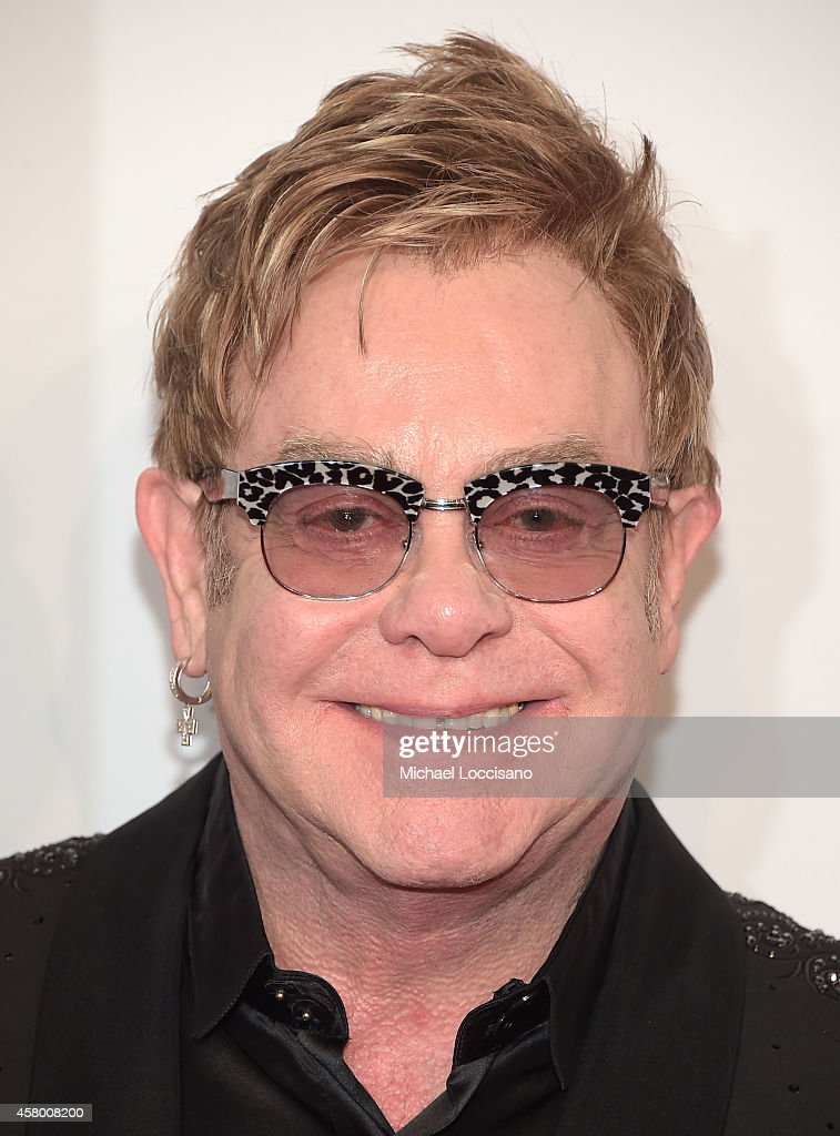 Founder Sir <a gi-track='captionPersonalityLinkClicked' href=/galleries/search?phrase=Elton+John&family=editorial&specificpeople=171369 ng-click='$event.stopPropagation()'>Elton John</a> attends the <a gi-track='captionPersonalityLinkClicked' href=/galleries/search?phrase=Elton+John&family=editorial&specificpeople=171369 ng-click='$event.stopPropagation()'>Elton John</a> AIDS Foundation's 13th Annual An Enduring Vision Benefit at Cipriani Wall Street on October 28, 2014 in New York City.