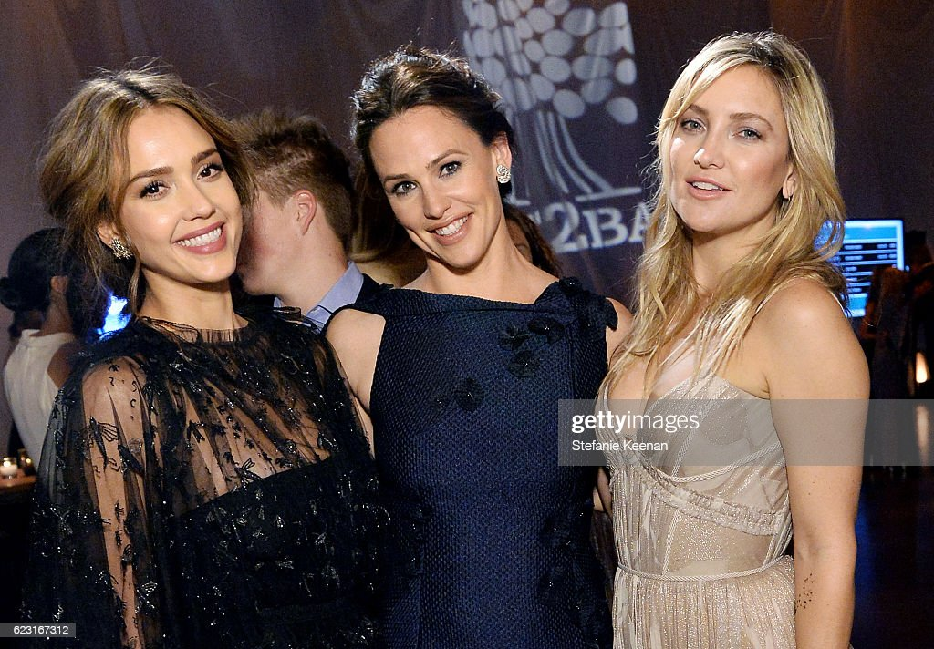 Founder, The Honest Company, Jessica Alba and actors Jennifer Garner and Kate Hudson attend the Fifth Annual Baby2Baby Gala, Presented By John Paul Mitchell Systems at 3LABS on November 12, 2016 in Culver City, California.