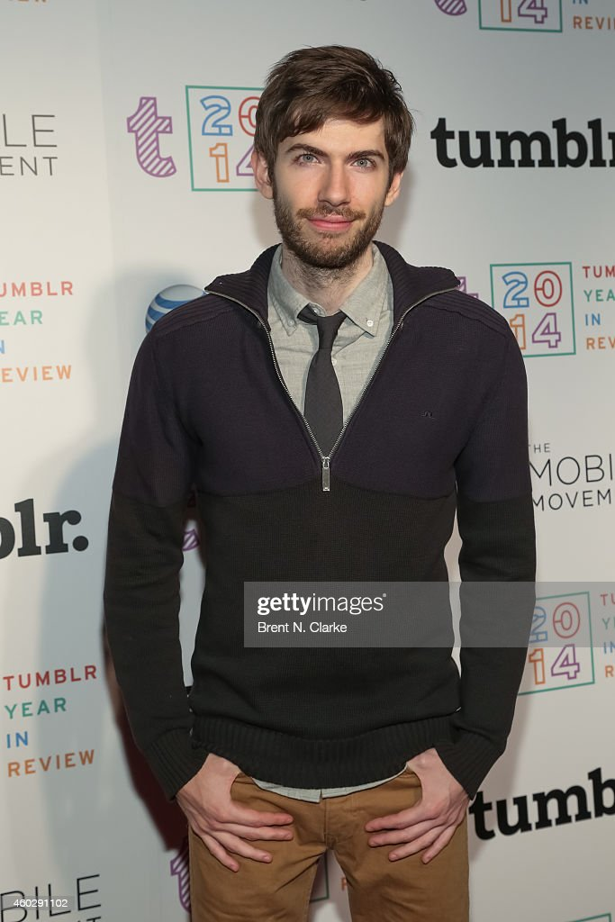 Founder/CEO of Tumblr <a gi-track='captionPersonalityLinkClicked' href=/galleries/search?phrase=David+Karp&family=editorial&specificpeople=6603515 ng-click='$event.stopPropagation()'>David Karp</a> arrives at Tumblr's 2014 Year in Review Party at Brooklyn Night Bazaar on December 10, 2014 in the Brooklyn borough of New York City.