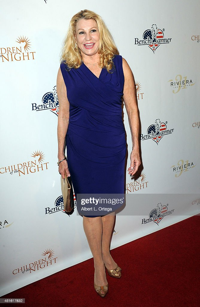Founder/President of Children of the Night Dr. Lois Lee arrives for BenchWarmer's Annual Stars & Stripes Celebration held at Riviera 31 on July 1, 2014 in Beverly Hills, California.