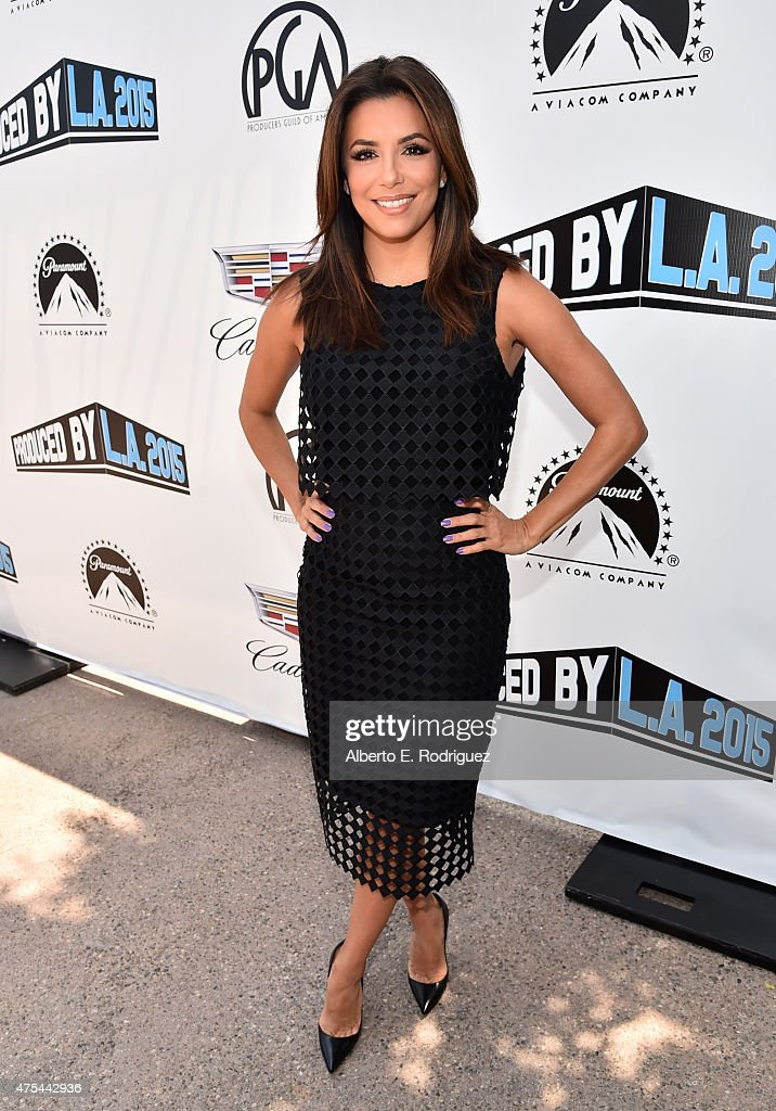 Founder/Producer, UnbeliEVAble Entertainment Eva Longoria attends the 7th Annual Produced By Conference at Paramount Studios on May 31, 2015 in Hollywood, California.