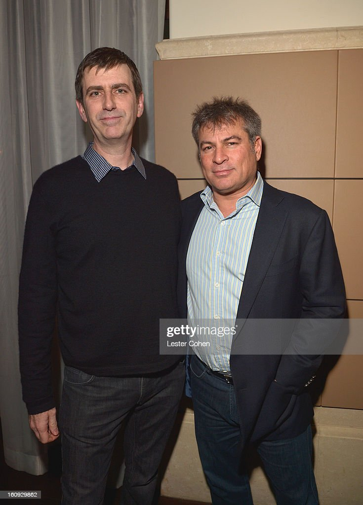 Founders and Co-CEOs of AAM Mark Beaven and Andy Kipnes attend the Friends N Family Dinner Hosted by Mark Beaven and Andy Kipnes at Scarpetta on February 7, 2013 in Beverly Hills, California.