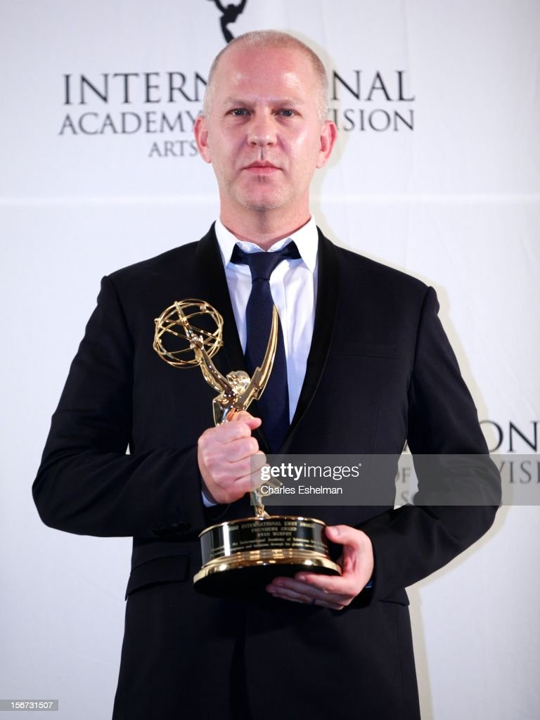 Founders award winner Ryan Murphy attends the 40th International Emmy Awards at Mercury Ballroom at the New York Hilton on November 19, 2012 in New York City.