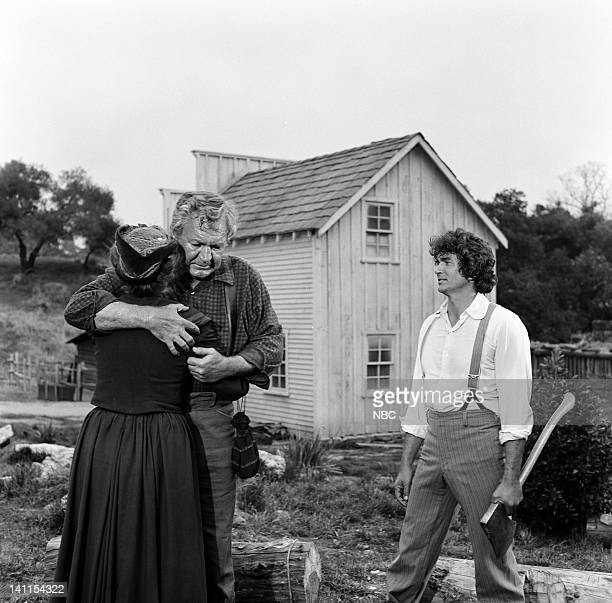 PRAIRIE 'Founder's Day' Episode 24 Aired Pictured Ann Doran as Helen Tyler Forrest Tucker as Jim Tyler Michael Landon as Charles Ingalls Photo by...