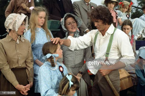 PRAIRIE 'Founder's Day' Episode 24 Aired Pictured Melissa Sue Anderson as Mary Ingalls Melissa Gilbert as Laura Ingalls Karen Grassle as Caroline...