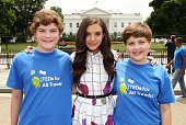 Founders of One More Generation Carter Ries and Olivia Ries and actress Lilimar Hernandez Ruiz join Oceana One More Generation and regional children...
