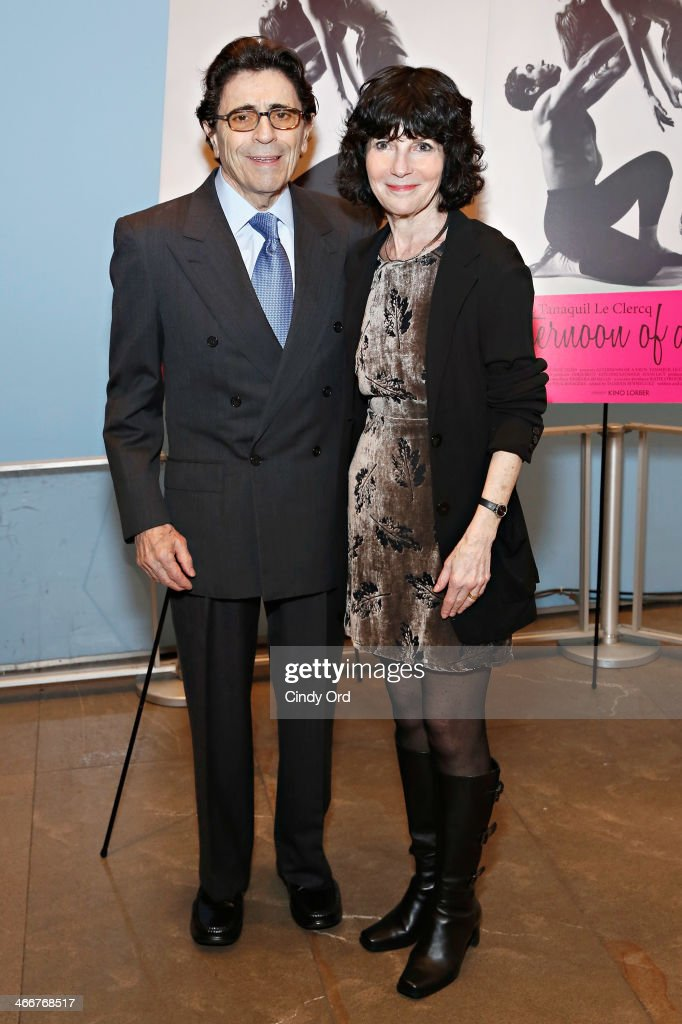 Founding artistic director of Miami City Ballet Edward Villella and director Nancy Buirski attend the 'Afternoon Of A Faun' screening on February 3, 2014 in New York City.