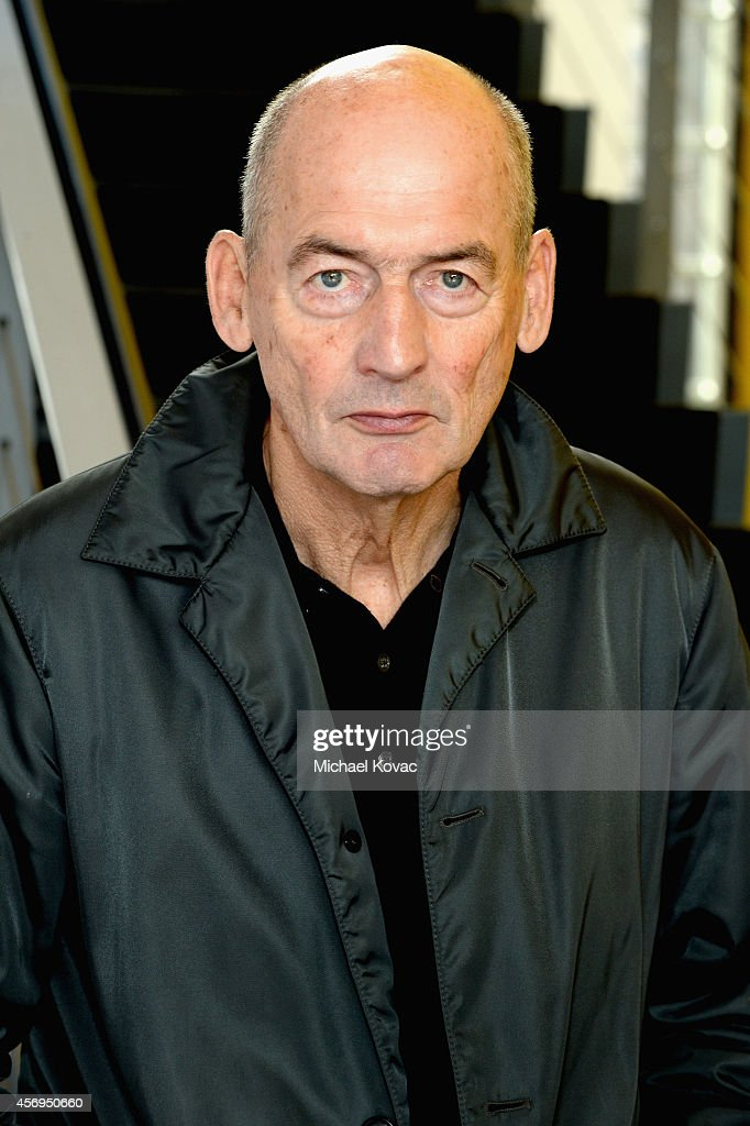 Founding Partner <a gi-track='captionPersonalityLinkClicked' href=/galleries/search?phrase=Rem+Koolhaas&family=editorial&specificpeople=808645 ng-click='$event.stopPropagation()'>Rem Koolhaas</a> attends the Vanity Fair New Establishment Summit at Yerba Buena Center for the Arts on October 9, 2014 in San Francisco, California.