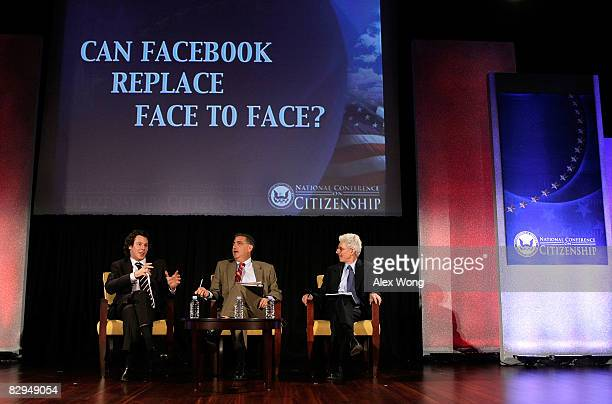 Founding President of Facebook and cofounder of Napster and Plaxo Sean Parker Harvard University Fellow Joe Trippi and Brookings Institution Senior...