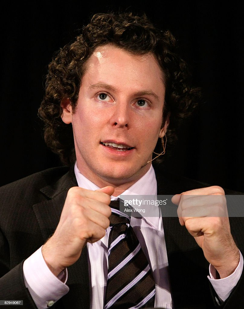 Founding President of Facebook and co-founder of Napster and Plaxo Sean Parker speaks during a panel discussion on 'Can Facebook Replace Face-to-Face' at the 2008 Annual National Conference on Citizenship September 22, 2008 at the National Archives in Washington, DC. The conference was founded in 1946 and charted by the U.S. Congress in 1953 in promoting the civic life of the United States.