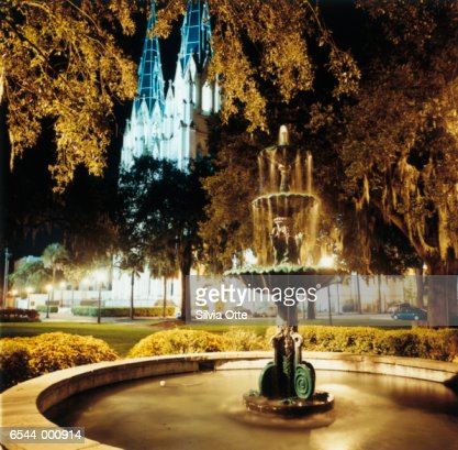 Fountain and Cathedral