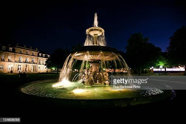 Fountain at Schlossplatz
