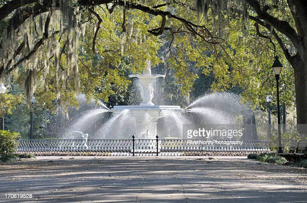 Fountain, Forsythe Park, Savannah