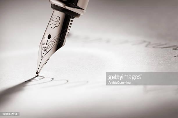 Füllfederhalter schriftlich eine einzigartige