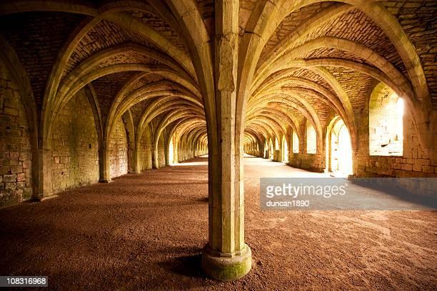 Fountains Abbey Cellarium