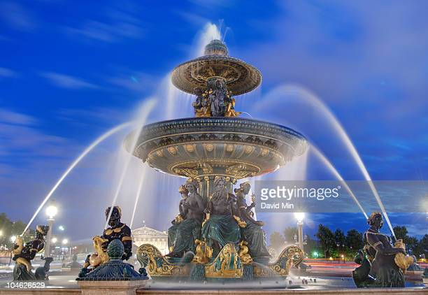 Fountains on the Place de la Concorde