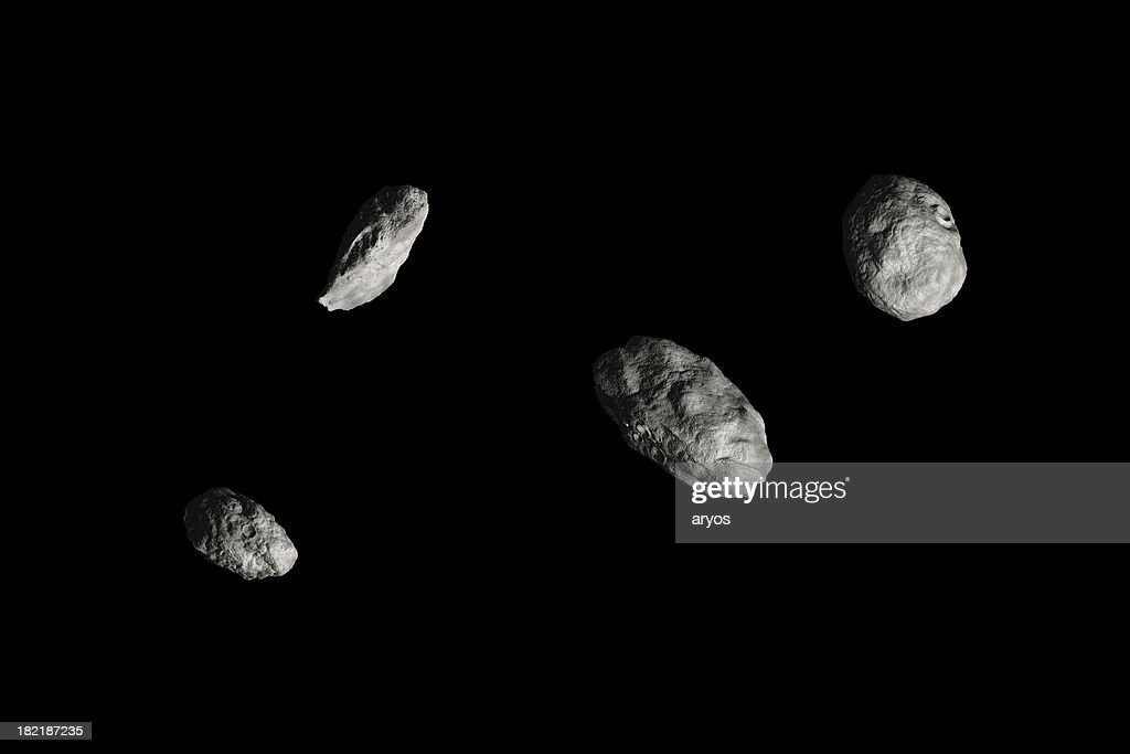 Four Asteroids Hires Black Stock Photo | Getty Images