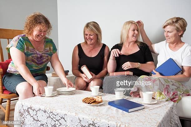 Four Book Club Women