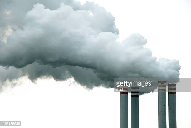 Four Chimneys and Smoke