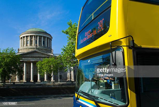 Four courts and bus
