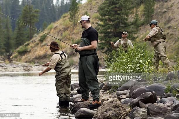 Voler des pêcheurs quatre au sec