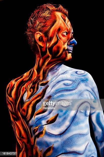 Four Elements Body Paint Series