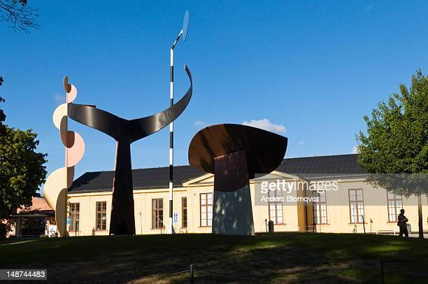 Four Elements sculpture by Alexander Calder outside Moderna Museet on Skeppsholmen.