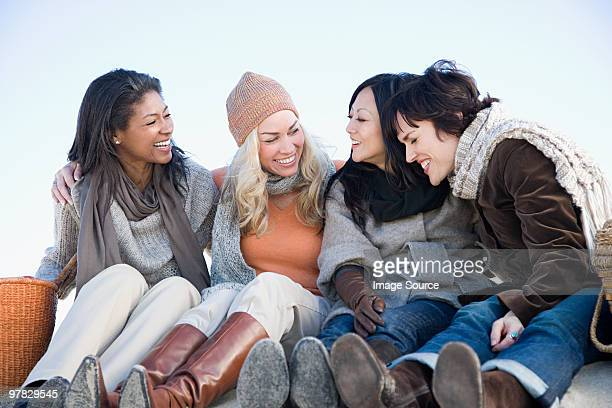 Four female friends