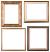 Four isolated frames