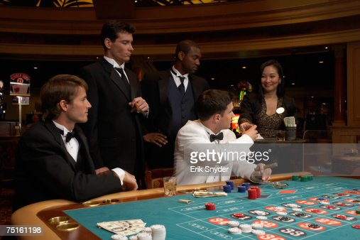 casino roulette men