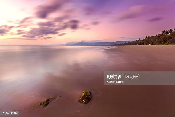Four Mile beach at sunrise