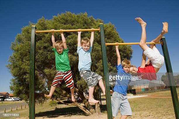 Scimmia quattro ragazzi