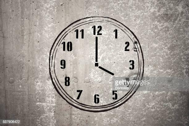Quattro ore-Immagine Stock
