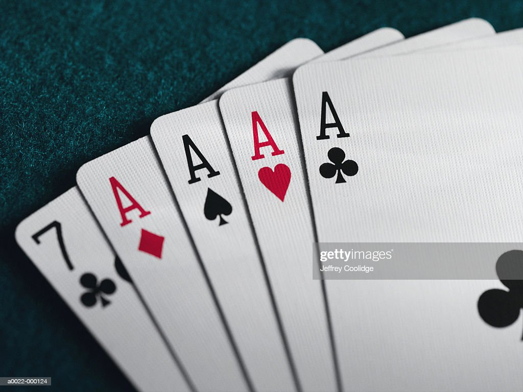 Four of a Kind : Stock Photo