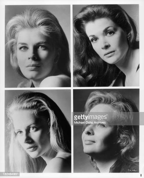 Candice Bergen Jessica Walter Shirley Knight and MaryRobin Redd in scenes from the film 'The Group' 1966
