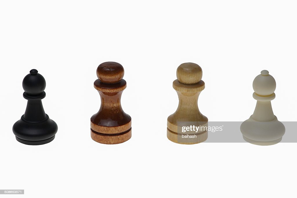 Four races of Humanity : Stock Photo