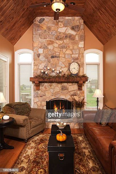 Four season porch addition in residential home.