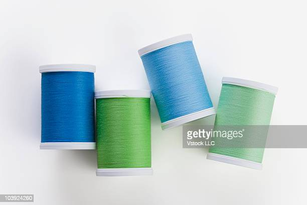 Four spools of thread